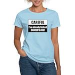 Kicked Cancer's Ass Women's Light T-Shirt