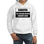 Kicked Cancer's Ass Hooded Sweatshirt