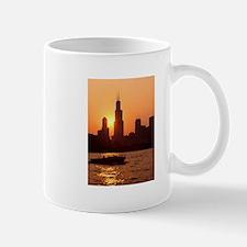 Sears Tower As The Sun Sets Mug