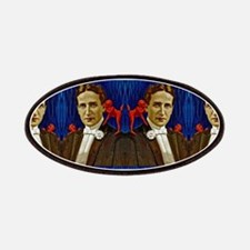 harry houdini devils red blue Patch