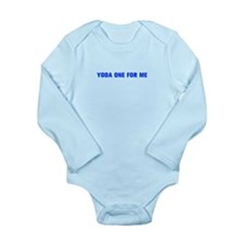 Yoda one for me-Akz blue 500 Body Suit