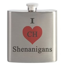I heart Shenanigans Flask