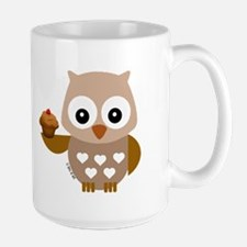 Brown Pretty Owl Mugs
