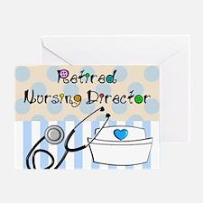 Retired Nursing Director Greeting Card