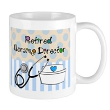 Retired Nursing Director Mug