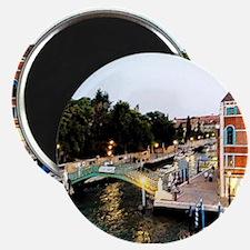 Evening Lights of Venice Magnets