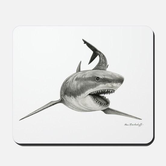 Great White Shark ~ Mousepad