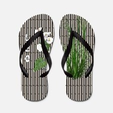 Bamboo and Lily Leo Flip Flops
