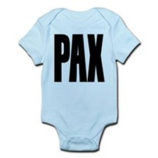 PAX Latin for Peace Infant Bodysuit