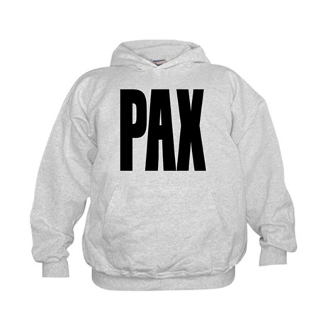 PAX Latin for Peace Kids Hoodie
