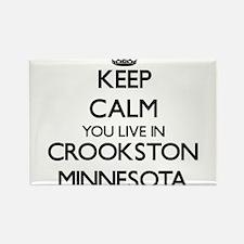 Keep calm you live in Crookston Minnesota Magnets