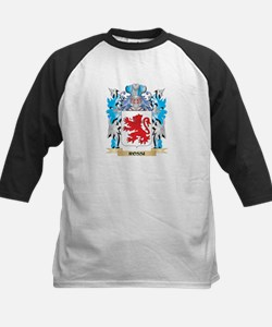 Rossi Coat of Arms - Family Crest Baseball Jersey