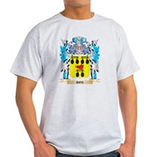 Ros Coat of Arms - Family Crest T-Shirt