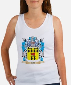 Ros Coat of Arms - Family Crest Tank Top