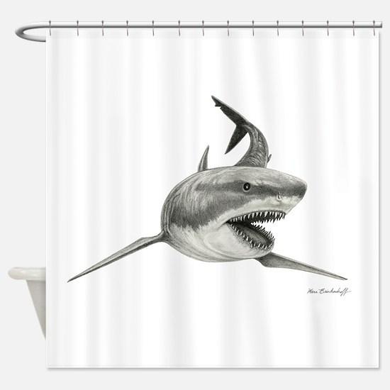 Great White Shark ~ Shower Curtain