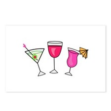MIXED DRINKS Postcards (Package of 8)