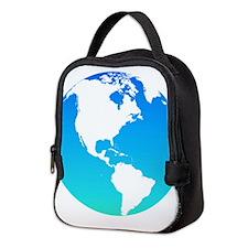 The Earth Neoprene Lunch Bag