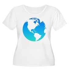 The Earth Plus Size T-Shirt
