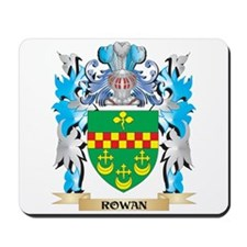 Rowan Coat of Arms - Family Crest Mousepad