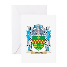 Rowan Coat of Arms - Family Crest Greeting Cards