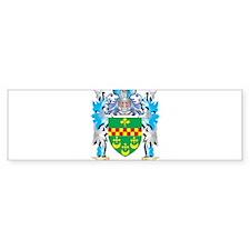 Rowan Coat of Arms - Family Crest Bumper Bumper Sticker
