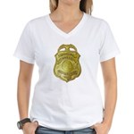 Press Photographer Women's V-Neck T-Shirt