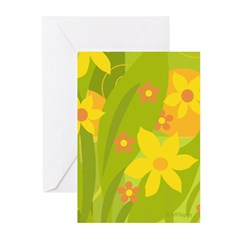 Garden 1 - Day Greeting Cards (Pk of 10)