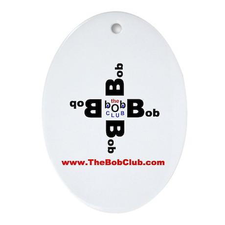 """Bob Club """"Spinner"""" Oval Ornament"""
