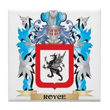 Royce Coat of Arms - Family Crest Tile Coaster