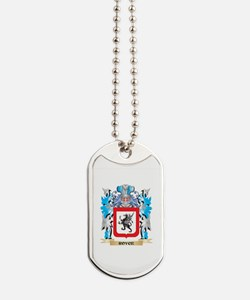 Royce Coat of Arms - Family Crest Dog Tags