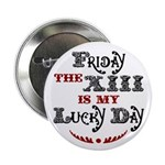 "Friday the 13th 2.25"" Button (100 pack)"