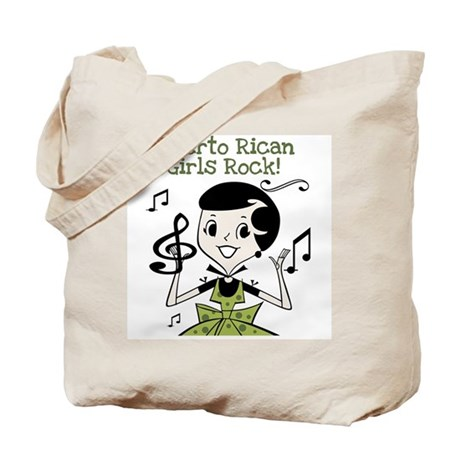 Puerto Rican Girls Rock Tote Bag