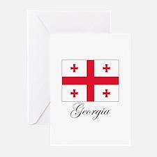 Georgia - Flag Greeting Cards (Pk of 10)
