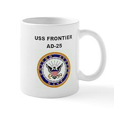 USS FRONTIER Mug