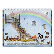 Rainbow bridge Wall Calander