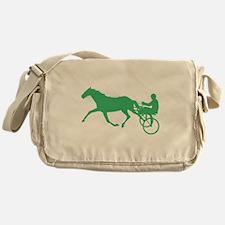 Green Harness Racing Messenger Bag