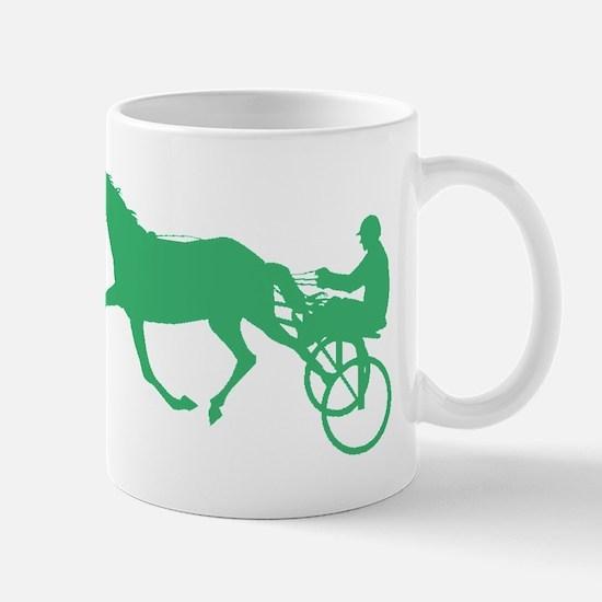 Green Harness Racing Mugs
