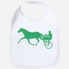 Green Harness Racing Bib
