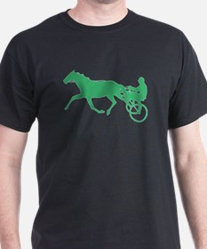 Green Harness Racing T-Shirt
