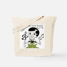 Romanian Girls Rock Tote Bag