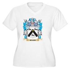 Ruger Coat of Arms - Family Cres Plus Size T-Shirt
