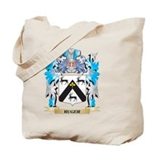 Ruger Coat of Arms - Family Crest Tote Bag