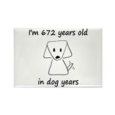 96 dog years 6 - 2 Magnets