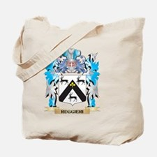 Ruggieri Coat of Arms - Family Crest Tote Bag
