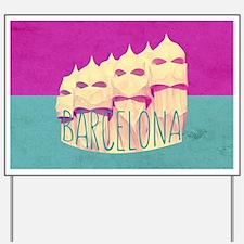 Barcelona Gaudi Paradise Yard Sign