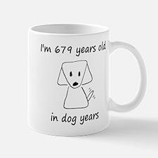 97 dog years 6 Mugs