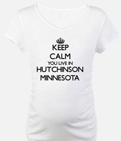 Keep calm you live in Hutchinson Shirt