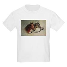 Two Horses Kids T-Shirt