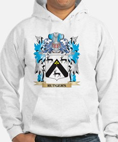 Rutgers Coat of Arms - Family Cr Hoodie