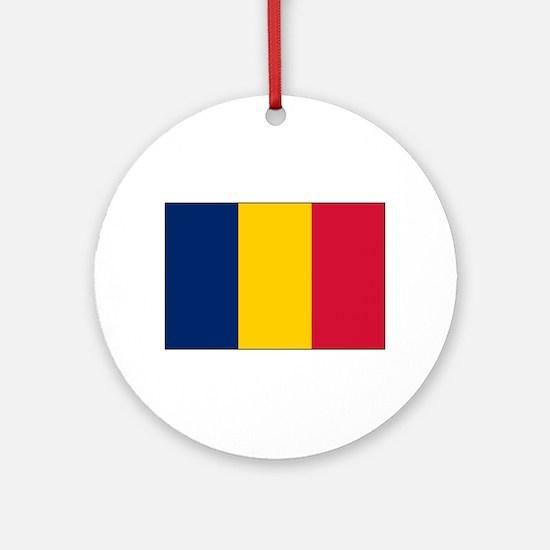 Chad Flag Ornament (Round)